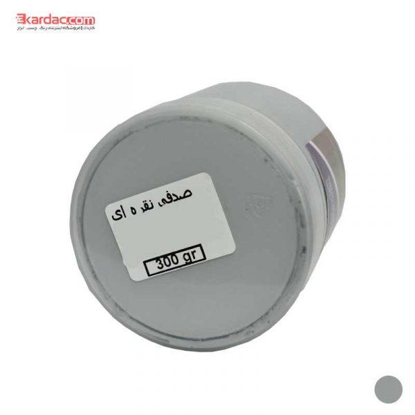رنگ اکریلیک نقره ای صدفی کارن حجم 300 گرمی