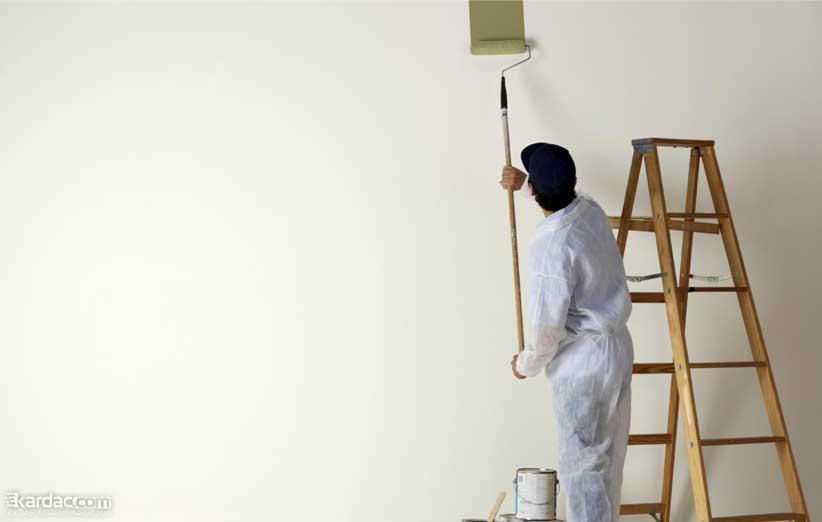 رنگ کردن سطوح خانه