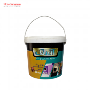 نیم پلاستیک درجه 1گالن آق رنگ ak400 300x300 - کاردک | فروشگاه اینترنتی رنگ ، رزین ، چسب ، ابزار