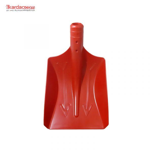 پلاستیکی قرمز 600x600 - پارو برف روبی طرح ترک