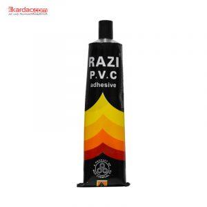چسب PVC (پی وی سی) تیوپی رازی حجم 100 گرمی