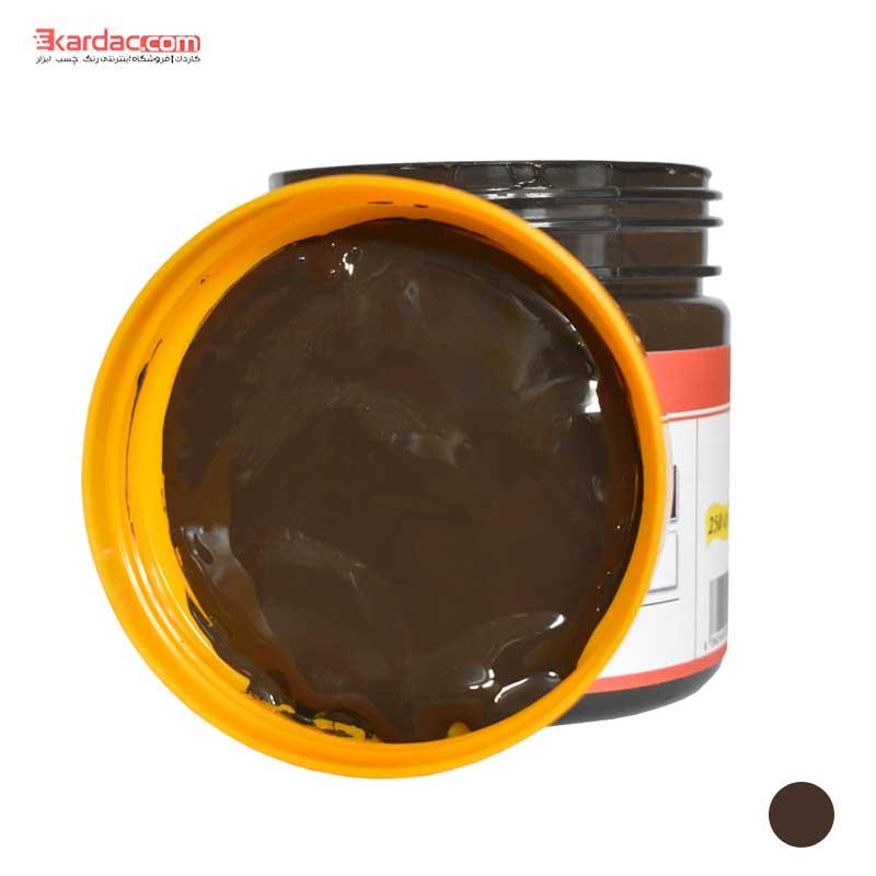 مادر رنگ قهوه ای تیره لاتکس پایه آب آق رنگ حجم 300 گرمی