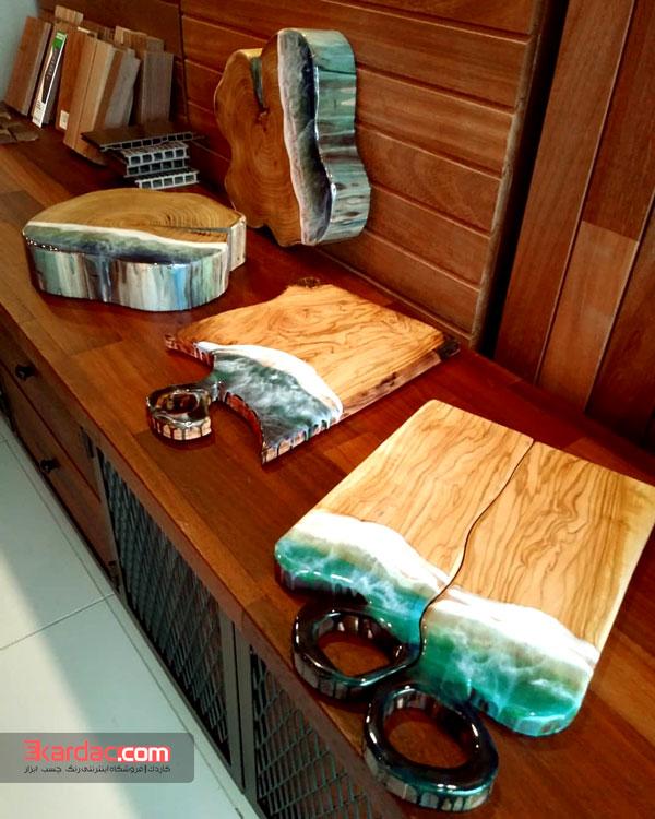 قیمت و خرید رزین اپوکسی چوب