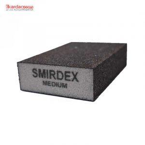 سنباده اسفنجی متوسط اسمیردکس مدل مکعبی 4*4