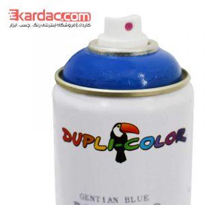 اسپری رنگ آبی جنتیانا دوپلی کالر مدل Gentian Blue کد رال 5010