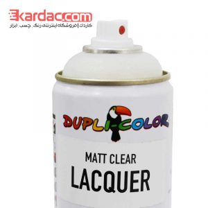 اسپری کیلر مات دوپلی کالر مدل Matt Clear Lacquer