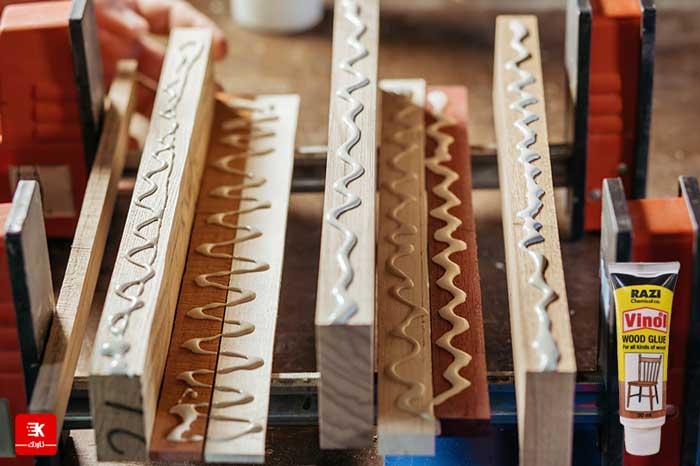 چسب چوب پمادی رازی مدل وینول